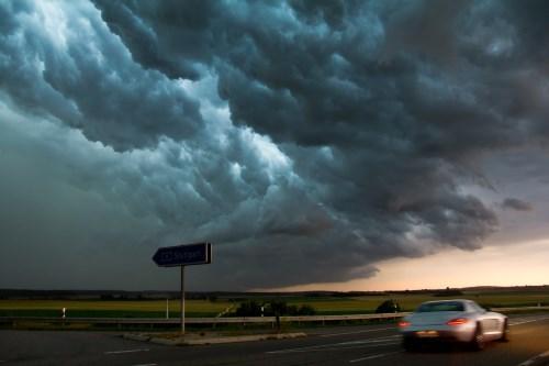 Was tun wenn man in ein heftiges Unwetter kommt.